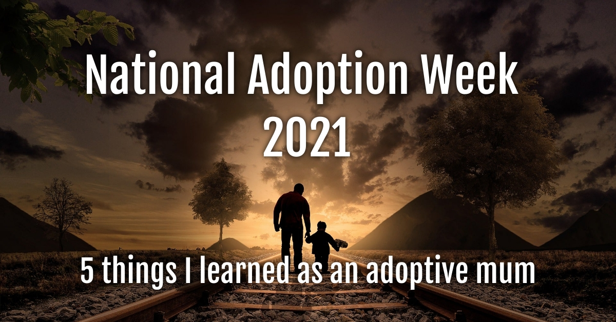 National Adoption Week 2021, father walking with child.